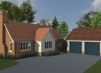 Thumbnail 3 bed detached bungalow for sale in Priory Meadows, Benton End, Hadleigh, Suffolk