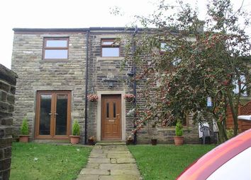 Thumbnail 3 bed cottage to rent in Back Heights Road, Thornton, Bradford