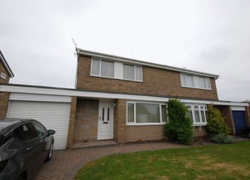 Thumbnail 3 bed semi-detached house for sale in Beech Drive, Ellington, Morpeth
