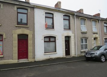 Thumbnail 3 bed terraced house for sale in Penallt Terrrace, Llanelli