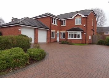 Thumbnail 5 bed detached house to rent in Dere Croft, Borrowash, Derby