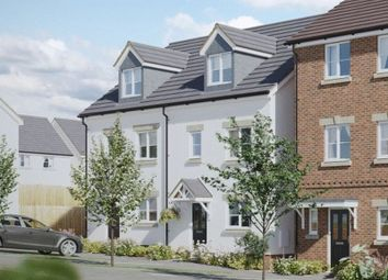 Thumbnail 3 bed semi-detached house for sale in Shambles Drive, Copplestone, Crediton