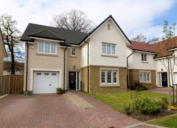 Thumbnail 5 bed detached house for sale in Leeming Drive, Falkirk