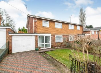 Thumbnail 3 bed semi-detached house for sale in St Thomas Close, Charlton, Andover