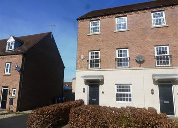 Thumbnail 4 bed town house to rent in Cordelia Way, Chellaston, Derby