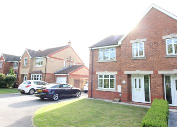 Thumbnail 4 bedroom semi-detached house for sale in Peppleton Close, Hull