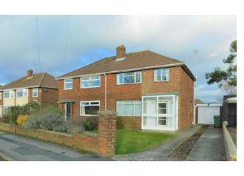 Thumbnail 3 bedroom semi-detached house for sale in Eastern Avenue - Old Walcot, Swindon