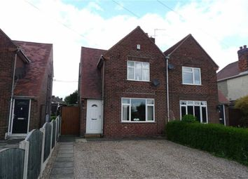 Thumbnail 2 bed semi-detached house to rent in Newtons Lane, Cossall, Nottingham
