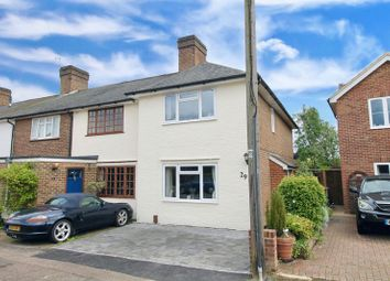 Thumbnail 3 bed terraced house for sale in Meadow Walk, Walton On The Hill, Tadworth