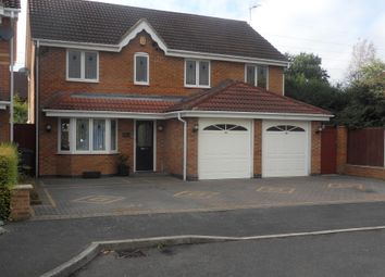 Thumbnail 5 bedroom detached house for sale in The Greenway, Thulston, Derby