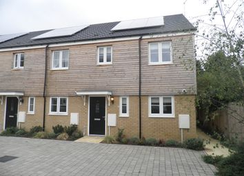 Thumbnail 3 bedroom end terrace house for sale in School View, Oundle, Peterborough