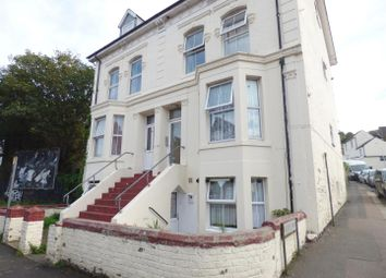 Thumbnail 1 bed flat to rent in Folkestone Road, Dover