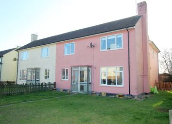 Thumbnail 4 bedroom semi-detached house for sale in Chestnut Road, Stradishall