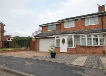 Thumbnail 4 bed semi-detached house for sale in Hilda Park, Chester Le Street