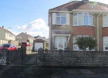 Thumbnail 3 bedroom property to rent in Myrtle Road, Garden Village, Swansea
