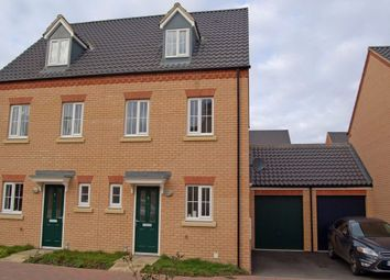 Thumbnail 3 bed town house to rent in Ascot Close, Bourne