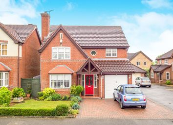 Thumbnail 4 bed detached house for sale in Tawny Way, Heatherton Village, Derby