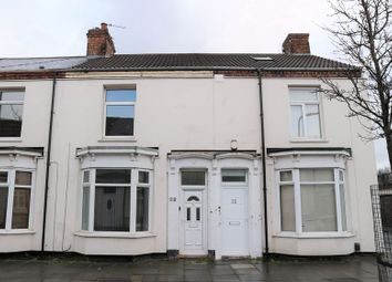 Thumbnail 3 bed terraced house to rent in 33 St Cuthbert Road, Stockton
