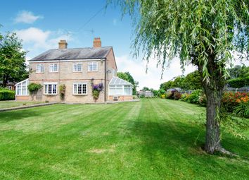 Thumbnail 3 bed semi-detached house for sale in St Johns Road, Tilney St. Lawrence, King's Lynn