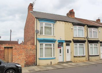 Thumbnail 3 bedroom end terrace house for sale in Clive Road, Linthorpe, Middlesbrough