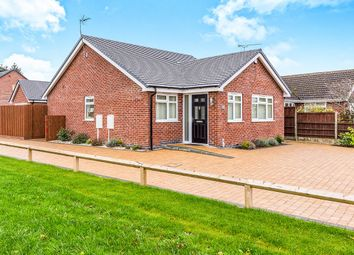 Thumbnail 2 bed bungalow for sale in Grace Road, Sapcote, Leicester