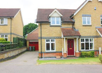 Thumbnail 2 bedroom semi-detached house for sale in Barleyfield Road, Horsford