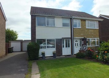 Thumbnail 3 bedroom semi-detached house for sale in The Furlongs, Needingworth, St. Ives, Huntingdon