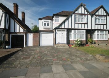 Thumbnail 4 bed semi-detached house for sale in Kings Drive, Edgware, Middlesex