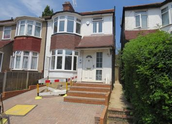 Thumbnail 3 bed flat to rent in Leeside Crescent, Temple Fortune Golders Green