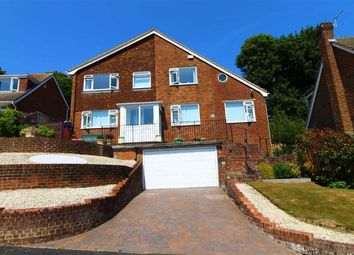 Thumbnail 3 bed detached house for sale in Henderson Close, Hastings, East Sussex