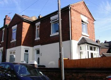 Thumbnail 3 bedroom terraced house to rent in Clare Street, Basford, Stoke-On-Trent