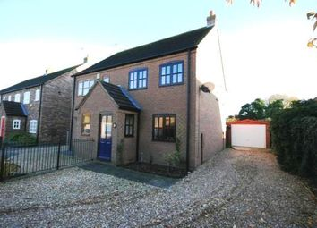 Thumbnail 2 bed semi-detached house to rent in Paddock Lane, Metheringham, Lincoln