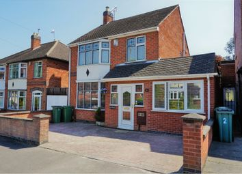 Thumbnail 4 bed detached house for sale in Balmoral Drive, Leicester