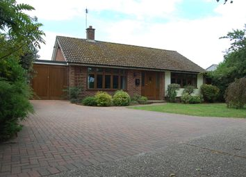 Thumbnail 3 bed detached bungalow for sale in Grundisburgh Road, Great Bealings, Woodbridge
