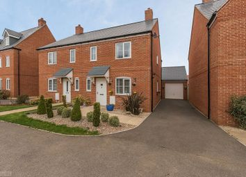 Thumbnail 3 bed semi-detached house for sale in Dunnock Road, Bodicote, Banbury