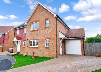 Thumbnail 3 bed semi-detached house for sale in Wye Green, Herne Bay, Kent