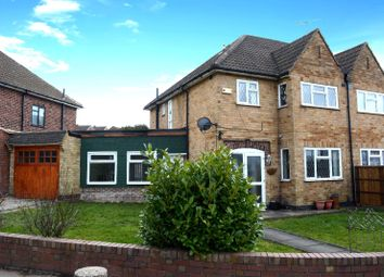 Thumbnail 3 bed semi-detached house for sale in Ethel Road, Evington, Leicester