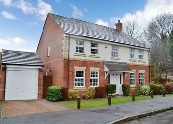 Thumbnail 4 bed detached house for sale in Laurel Gardens, Greenham, Thatcham
