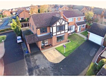 Thumbnail 4 bed detached house for sale in Serin Close, Spennells, Kidderminster