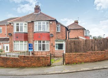 Thumbnail 2 bed semi-detached house for sale in Hedgeley Road, West Denton, Newcastle Upon Tyne