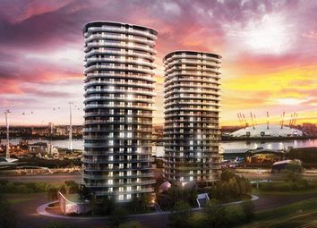 Thumbnail 3 bed flat for sale in Hoola Tower West Tidal Basin Road, London