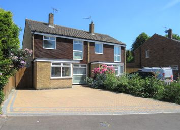 Thumbnail 3 bed semi-detached house for sale in Fairway Close, Copthorne, Crawley