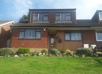 Thumbnail 3 bed semi-detached house for sale in Valley View, Greenhithe