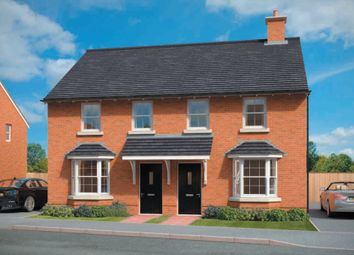 "Thumbnail 3 bed terraced house for sale in ""Archford"" at Morda, Oswestry"