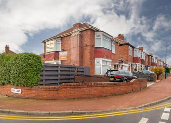 Thumbnail 3 bed detached house for sale in Dovedale Gardens, High Heaton, Newcastle Upon Tyne