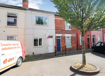 Thumbnail 3 bed terraced house for sale in Percival Street, Scunthorpe