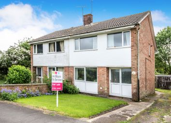 Thumbnail 3 bed semi-detached house for sale in St. Guthlac Close, Swaffham