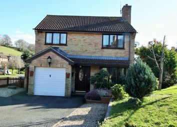Thumbnail 4 bed detached house for sale in Western Lea, Crediton