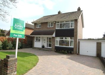 Thumbnail 3 bed detached house for sale in Central Avenue, Findon Valley, Worthing