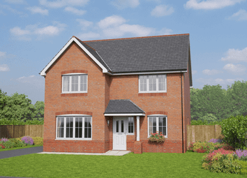 Thumbnail 4 bed detached house for sale in Holmes Chapel Road, Congleton, Cheshire
